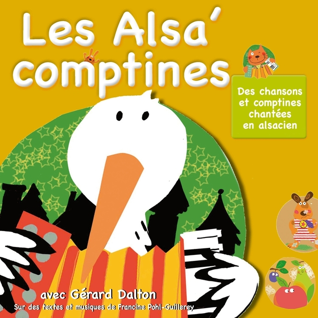 Les Alsa' comptines : Chansons et comptines chantées en alsacien