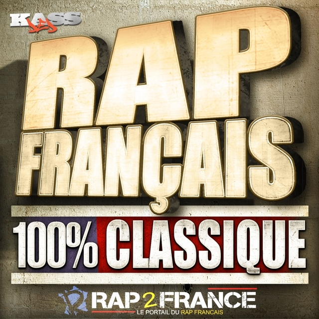 Couverture de Rap Français 100% Classic
