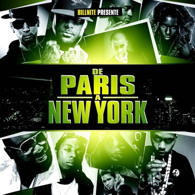 Couverture de De Paris à New York