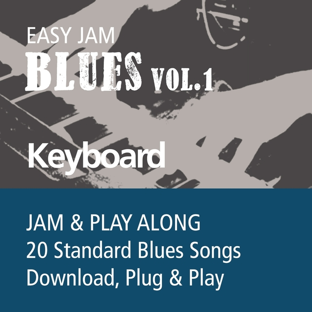 Easy Jam Blues, Vol.1 - Keybords