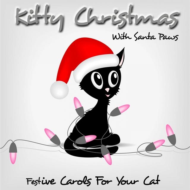 Kitty Christmas With Santa Paws