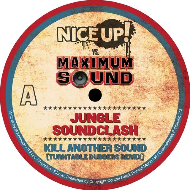Couverture de Nice Up! vs Maximum Sound: Jungle Soundclash