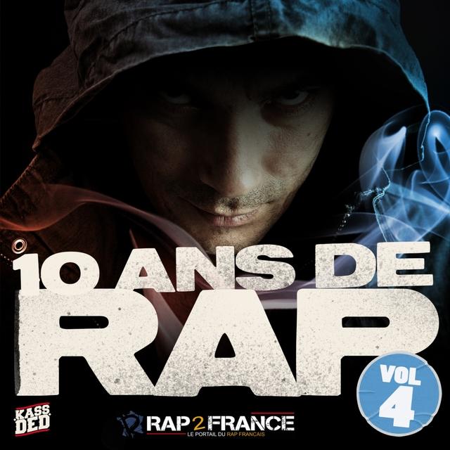 Couverture de 10 ans de rap, vol. 4