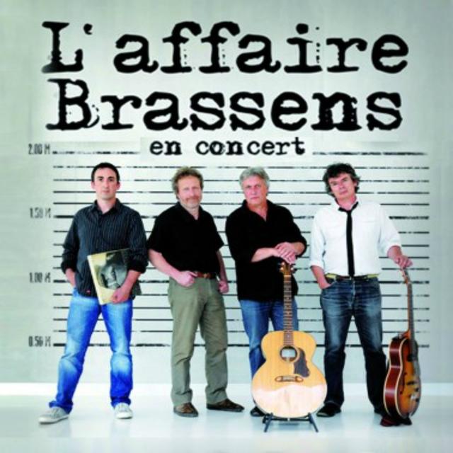 L'Affaire Brassens en concert