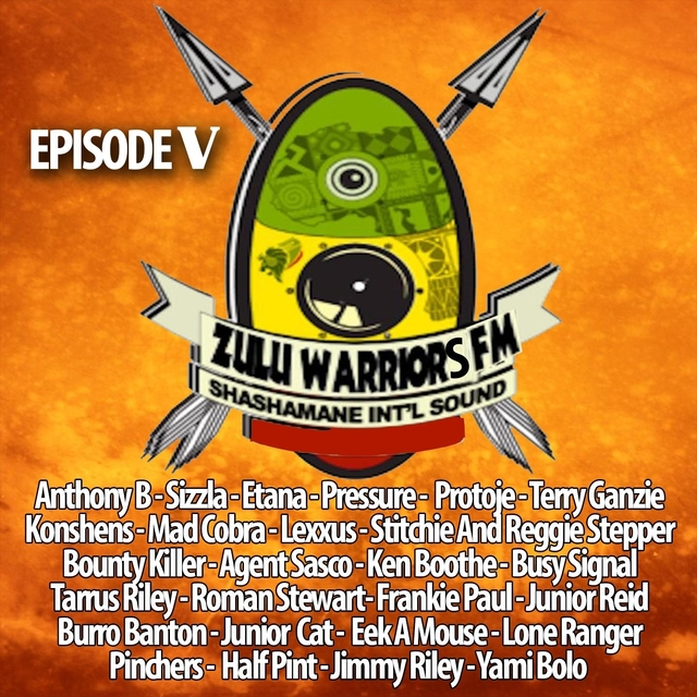 Couverture de Zulu Warriors Fm, Vol. 5