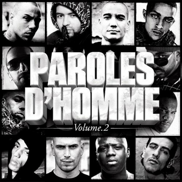 Couverture de Paroles d'homme, vol. 2