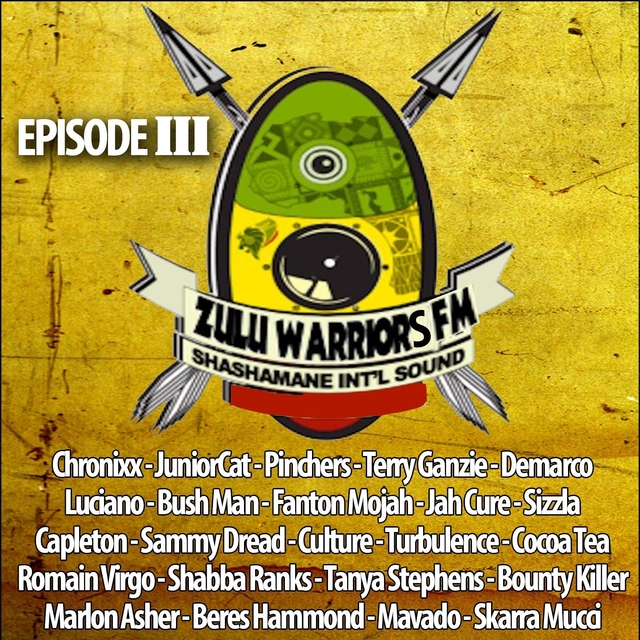 Couverture de Zulu Warriors FM, Vol. 3
