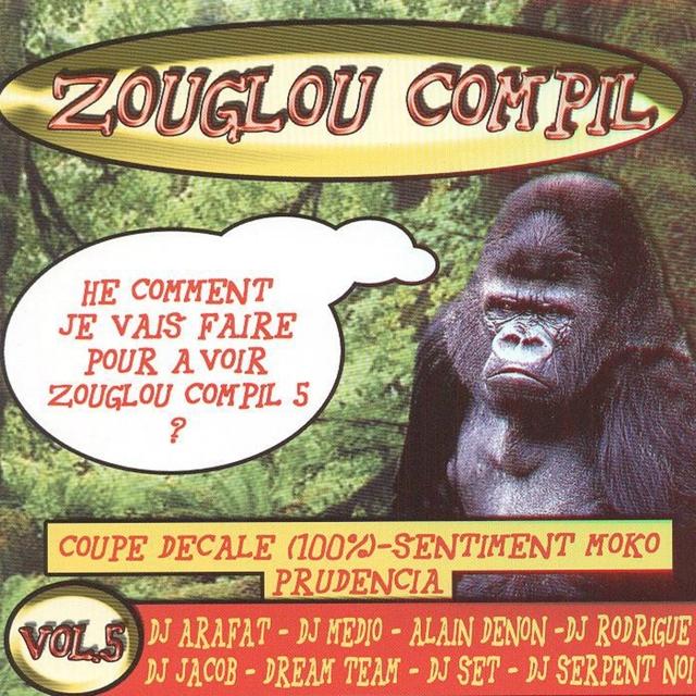 Couverture de Zouglou compil, vol. 5