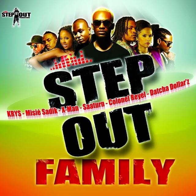 Couverture de Step Out Family