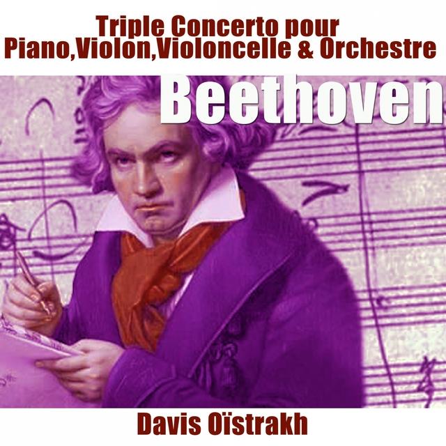 Beethoven: Triple concerto pour piano, violon, violoncelle