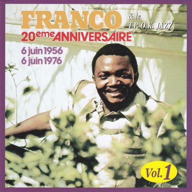 20ème anniversaire de l'O.K Jazz, vol. 1