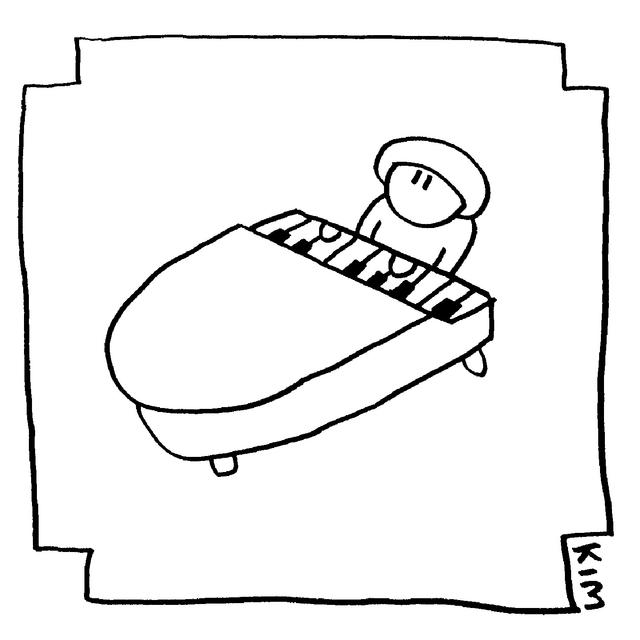 De la piano