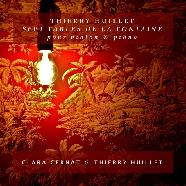 Couverture de Thierry Huillet: 7 Fables de La Fontaine