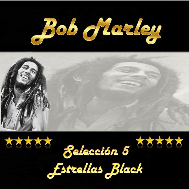 Couverture de Bob Marley, Selección 5 Estrellas Black