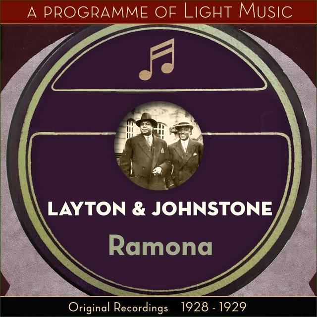 Ramona - A Programme Of Light Music