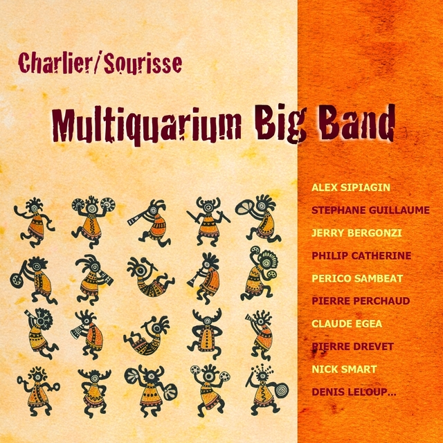 Couverture de Multiquarium Big Band