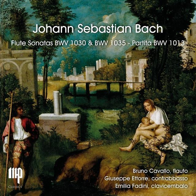 Bach: Flute Sonatas BWV 1030 & 1035 e Partita 1013