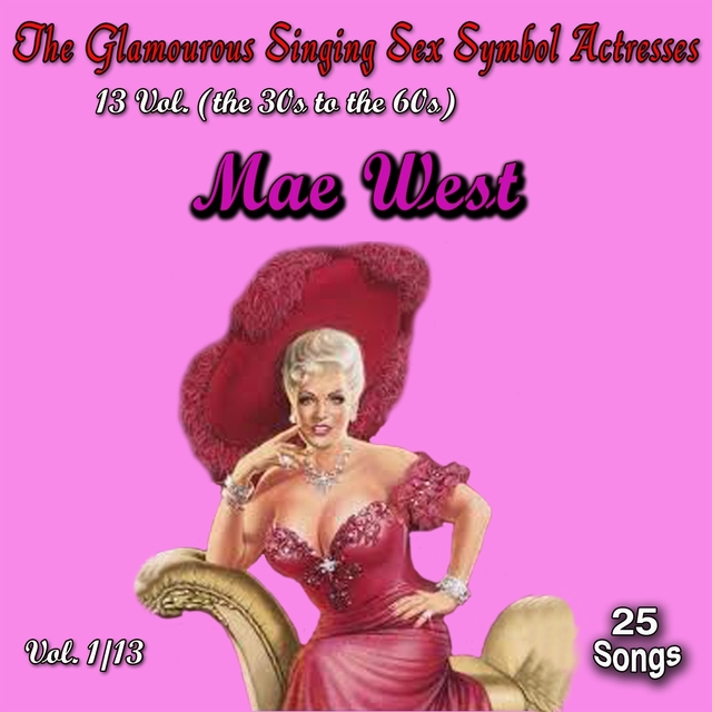 Couverture de Glamourous Sex Symbols of the Screen, Vol. 1