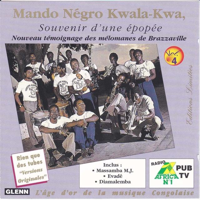 Souvenir D'Une Épopée, Vol. 4, Mando Négro Kwala-Kwa