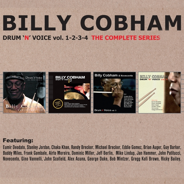 Drum'n Voice, Vols. 1, 2, 3 & 4