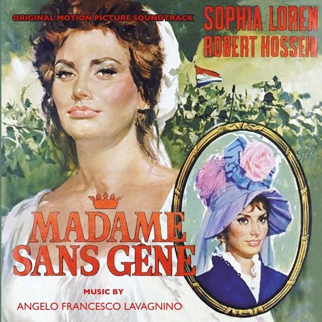 Couverture de Madame Sans-Gêne