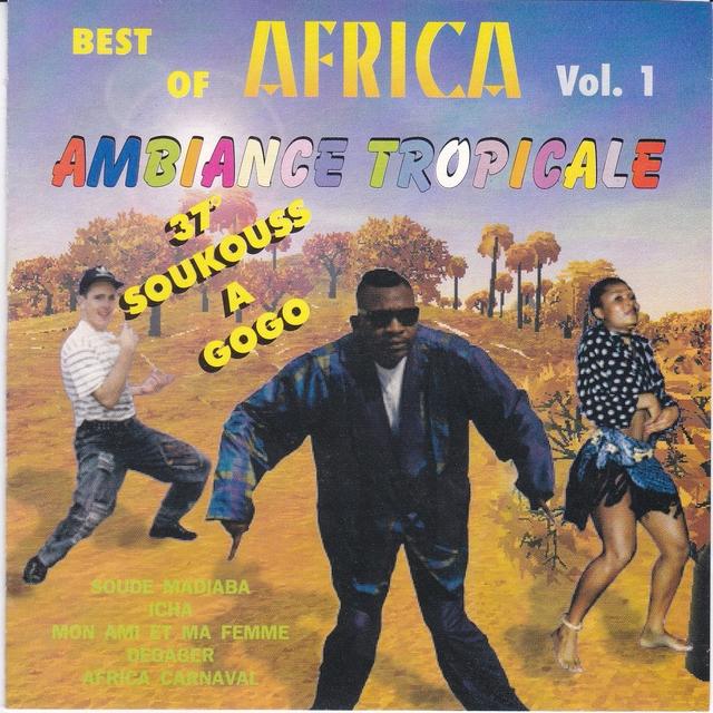Couverture de Best of Africa, Vol. 1