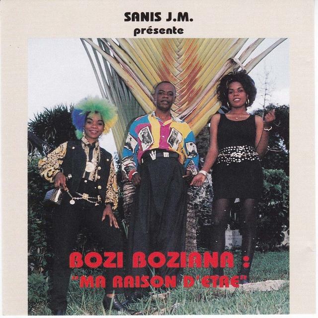 Couverture de Ma Raison D'être, Bozi Boziana & Anti-Choc