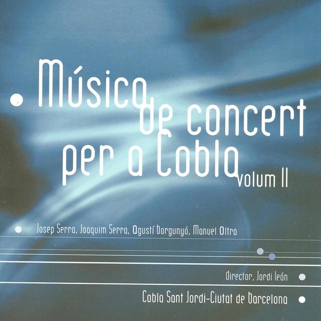 Música de Concert per a Cobla, Vol. 2