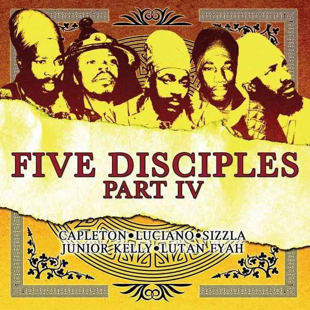 Couverture de FIVE DISCIPLES PART 5