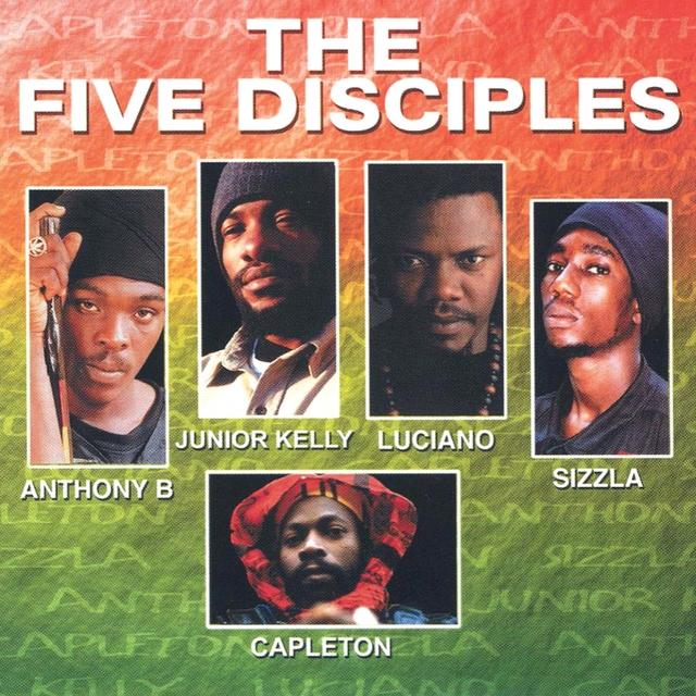 Couverture de THE FIVE DISCIPLES