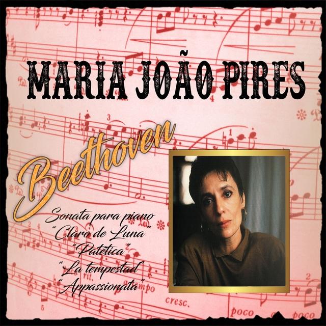 """Maria João Pires, Beethoven, Sonata para piano """"Claro de Luna"""", """"Patética"""", """"La tempestad"""", """"Appassionata"""""""