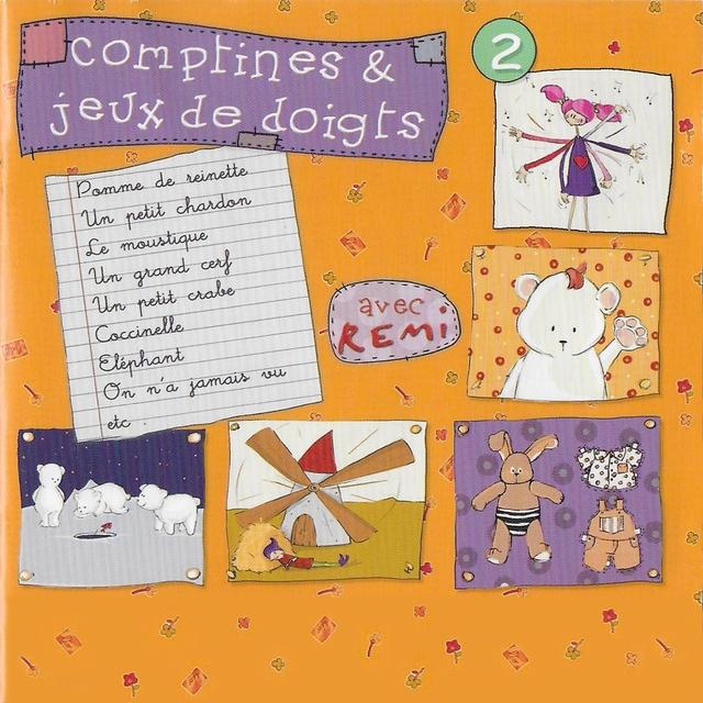 Comptines et jeux de doigts, vol. 2