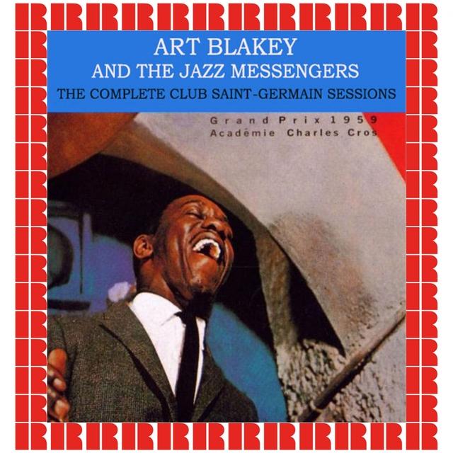 Couverture de Art Blakey & The Jazz-Messengers at Club St. Germain