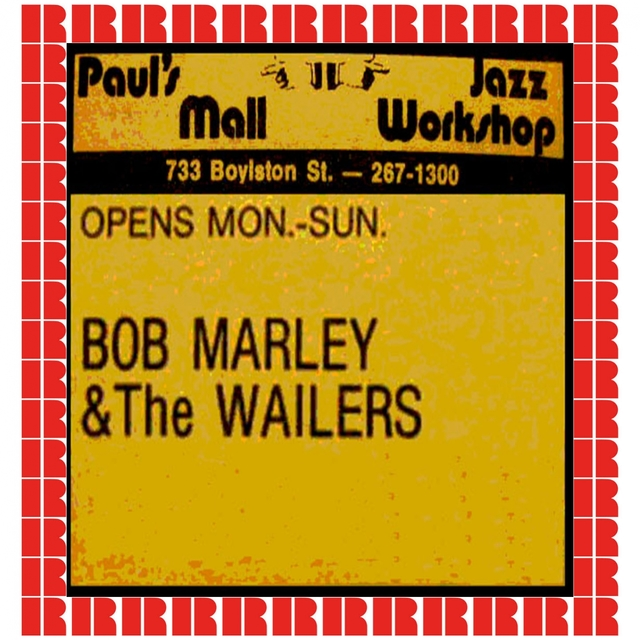 Couverture de Paul's Mall, Boston, July 11th, 1973