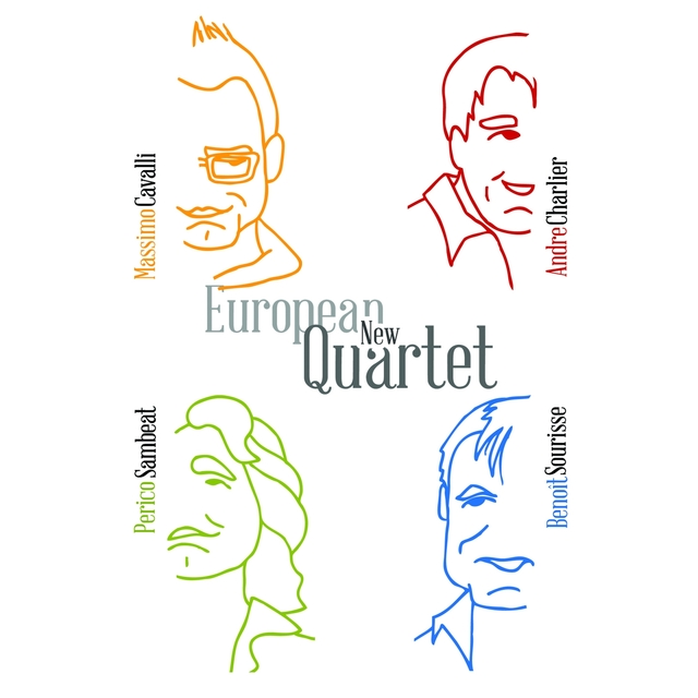 Couverture de European New Quartet