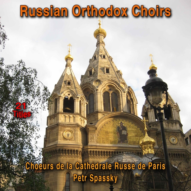 Russian Orthodox Choirs (21 Titles)