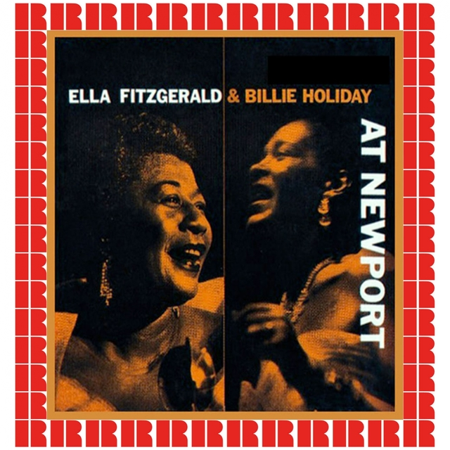 Couverture de Ella Fitzgerald And Billie Holiday At Newport