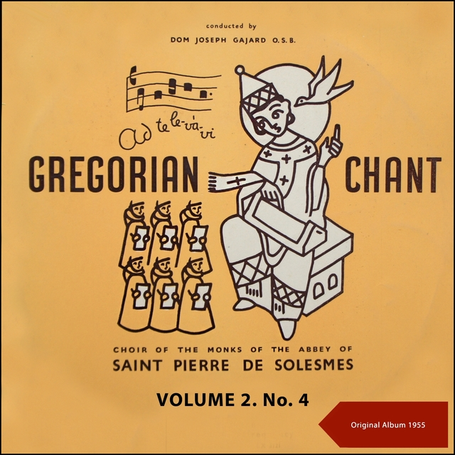 Gregorian Chant, Volume Two No. 4