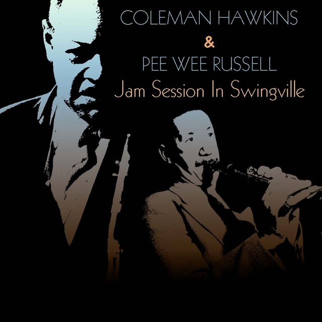 Couverture de Coleman Hawkins & Pee Wee Russell: Jam Session in Swingville