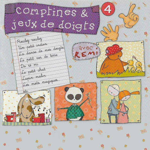 Comptines et jeux de doigts, vol. 4