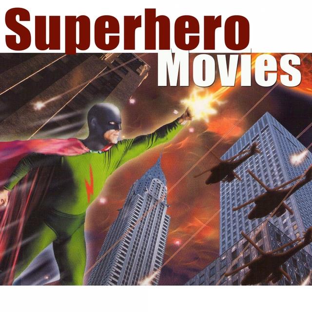 Couverture de Superhero Movies