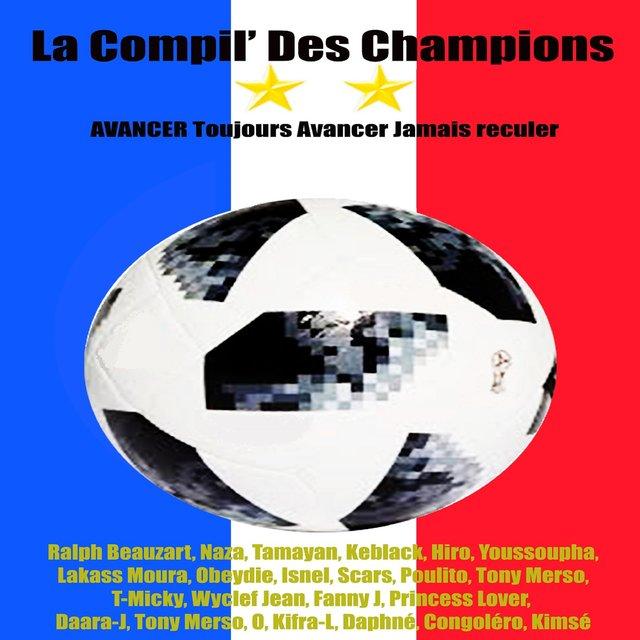 Couverture de La compil' des champions (Avancer, toujours avancer, jamais reculer...)