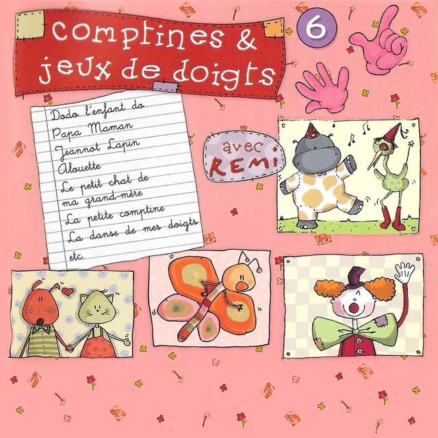 Couverture de Comptines et jeux de doigts, vol. 6