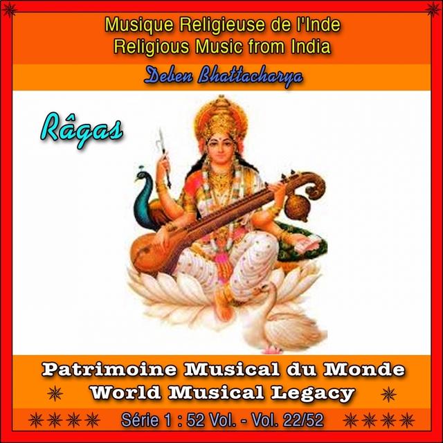 Patrimoine Musical du Monde / Vol. 22/52 : Musique religieuse de l'Inde