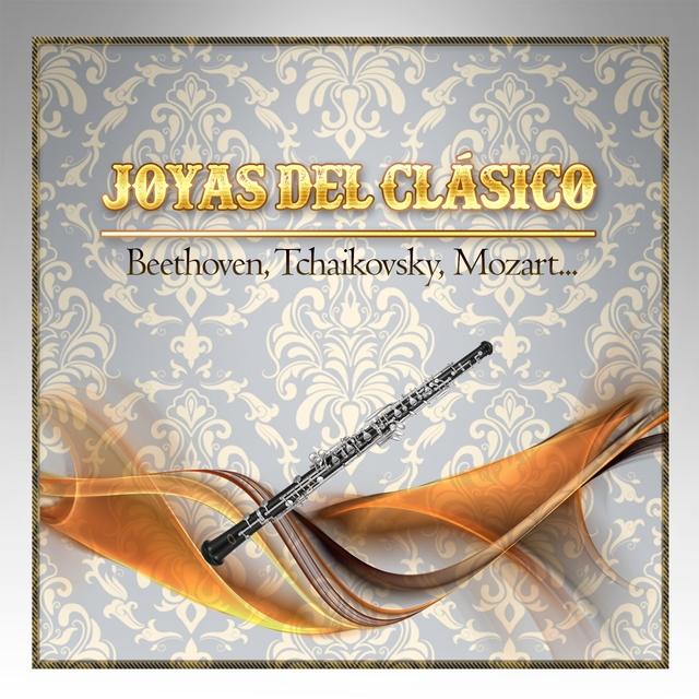 Couverture de Joyas Del Clásico, Beethoven, Tchaikovsky, Mozart...