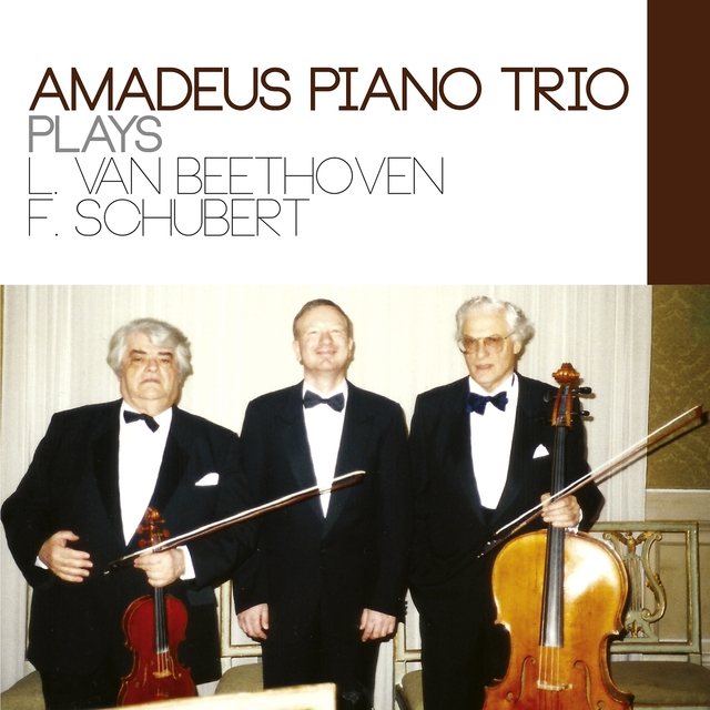 Amadeus Piano Trio Plays Beethoven and Schubert
