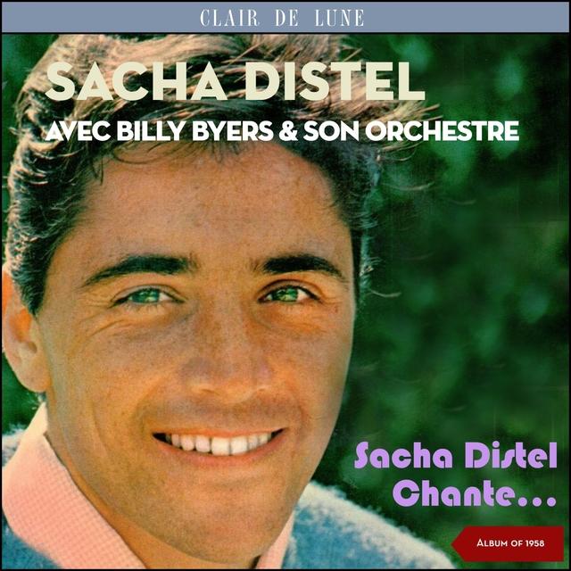 Couverture de Sacha distel chante...