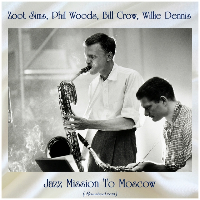 Couverture de Jazz Mission to Moscow