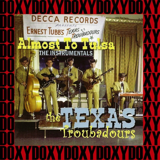 Couverture de Almost to Tulsa The Instrumentals (Remastered Version)