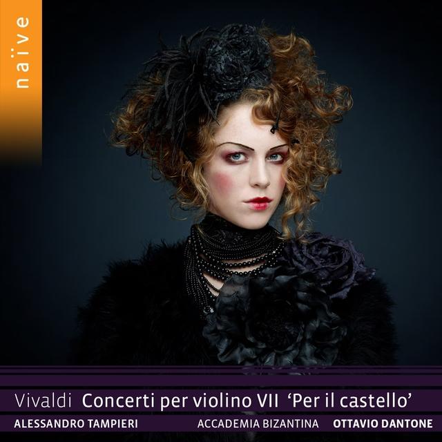 Couverture de Vivaldi: Concerti per violino, Vol. 7. Per il castello